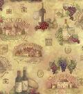 Susan Winget Cotton Fabric 44\u0022-Scenic Patch
