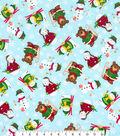Maker\u0027s Holiday Print Fabric 57\u0027\u0027-Forest Christmas