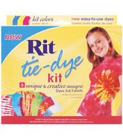 Rit Tie-Dye Kit-Red, Blue, Yellow, , hi-res