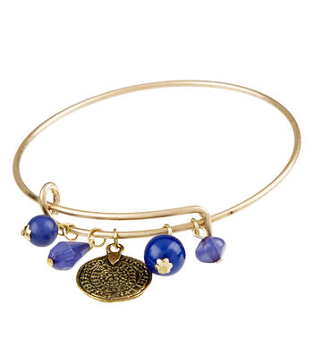 Finished Bracelet Coin - Brass Ox