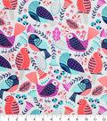 Novelty Cotton Fabric 43\u0022-Birds