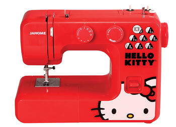 Janome 13512 Red Hello Kitty® Sewing Machine