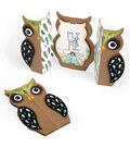 Sizzix Thinlits 6 Pack Dies-Owl Label Fold-A-Long Card