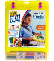 Crayola Color Wonder Stow & Go Studio (TM)-Assorted Colors, , hi-res
