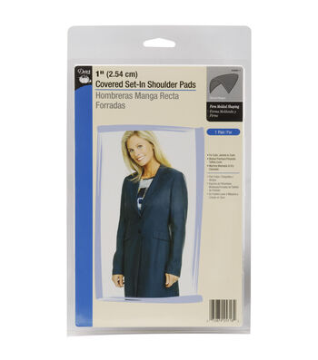 Dritz 1'' Covered Set-In Shoulder Pads