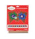 Little Makers Holiday Corrugated & Chalkboard Paper Banner Kit
