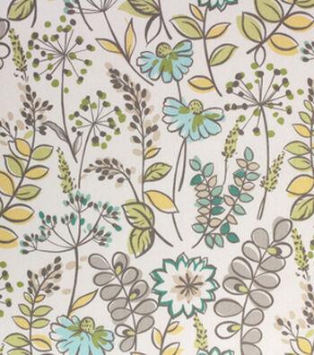 "Home Essentials Print Fabric 45""-Oakfield Green Tea"