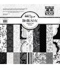 BoBunny Black Tie Affair Pack 19 pk 12\u0027\u0027x12\u0027\u0027 Collection Pack