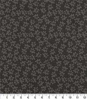 """Wide Cotton Quilt Fabric 108""""-Vine Black, , hi-res"""