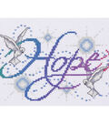 Hope Counted Cross Stitch Kit 14 Count