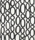 Home Decor 8\u0022x8\u0022 Fabric Swatch-HGTV HOME Looped Onyx