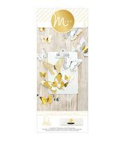 Heidi Swapp Minc 3-D Paper Butterflies 32/Pkg, , hi-res