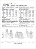 Vogue Patterns Misses Dress-V8729