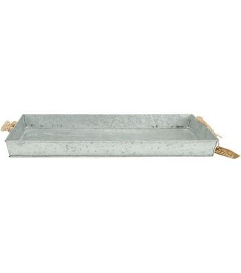 Fab Lab™ Galvanized Tray Large