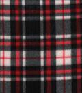 Blizzard Fleece Fabric 58\u0022-Walter Plaid