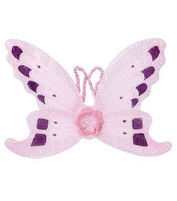 Fashion & Fluff™ Pink Butterfly Wings