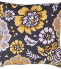 Yellow Floral Needlepoint Kit 12\u0022X12\u0022 Stitched In Yarn