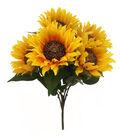 Blooming Autumn 18\u0027\u0027 Sunflower Bush-Yellow