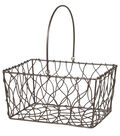 Fall For All Metal Basket Small