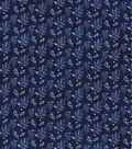 Kathy Davis® Cotton Fabric 44\u0027\u0027-Navy Tonal Leaves