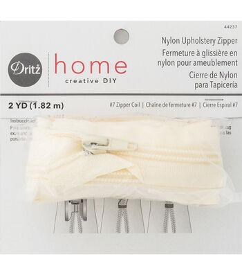 Dritz Home Nylon Home Decor Zipper 72''