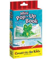 Creativity For Kids Activity Kits-Mini Pop-Up Book, , hi-res
