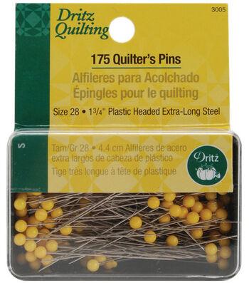 Dritz Quilting Quilter's Pins-Size 28 175/Pkg