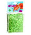 Bright Fill Moon Drops Green Filler/Scatter Bead