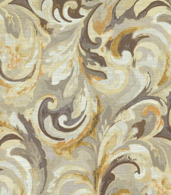 "Swavelle Mill Creek Home Decor Print Fabric 54""-Goldmine"