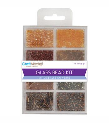 Multicraft Imports Glass Bead Kit