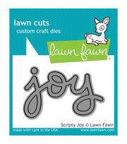 Lawn Fawn Lawn Cuts Custom Craft Die-Scripty Joy, , hi-res