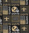 New Orleans Saints Cotton Fabric 58\u0022-Patch