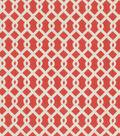 Waverly Upholstery Fabric-Ellis/Flamingo