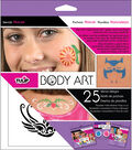 Tulip Body Art Stencil Designs-Nature 25/Pkg