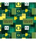 University of Oregon Ducks Cotton Fabric 43\u0027\u0027-Modern Block