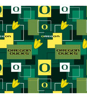 University of Oregon Ducks Cotton Fabric 43''-Modern Block, , hi-res