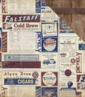 Rugged Double-Sided Cardstock 12\u0022X12\u0022-Newspaper Ads
