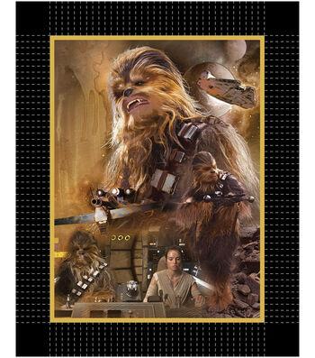 "Star Wars™ VII No Sew Fleece Throw 48""-The Force Awakens Chewy"