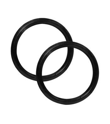 "Everything Mary Black 1.5"" O-Rings-2pk"