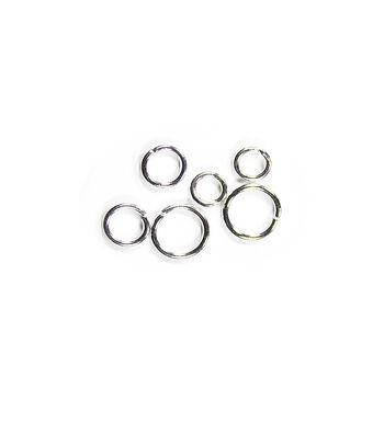 Blue Moon Findings Jump Ring Metal 5, 6 & 8mm Silver
