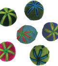 Feltworks Embroidered Balls .7\u0022