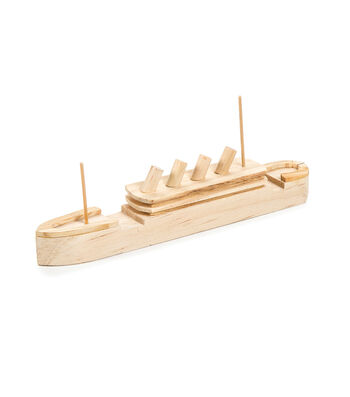 Darice Wood Model Kit-Titanic