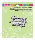 Stampendous Cling Rubber Stamp 3.5\u0022X4\u0022 Sheet-Dance Like