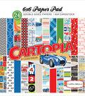 Carta Bella Double-Sided Paper Pad 6\u0022X6\u0022-Cartopia
