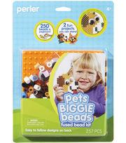 Perler Fun Fusion Biggie Fuse Bead Activity Kit-Pets, , hi-res