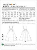 Mccall Pattern V8874 14-16-18-2-Vogue Pattern