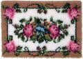 Wonderart Latch Hook Kit 24\u0022X34\u0022-Elegant Roses