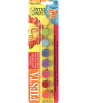 DecoArt Patio Paint Paint Pots-Fiesta, , hi-res