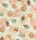 Home Decor 8\u0022x8\u0022 Swatch Fabric-Waverly Shell We Dance? Sandcastle