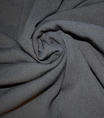 "Silky Gauze Fabric 45""-Black"